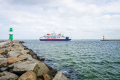 The ferry Mercandia VIII Stock Images