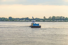 Ferry on the Mississippi river at Baton Rouge Stock Images