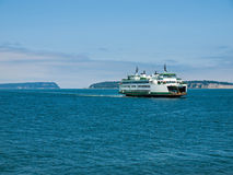 The Ferry at Mukilteo Royalty Free Stock Photos