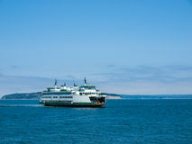 The Ferry at Mukilteo Royalty Free Stock Photo