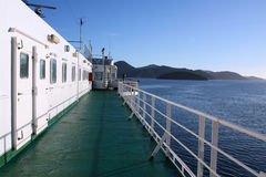 Ferry in New Zealand Stock Images