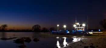 ferry night service στοκ εικόνες με δικαίωμα ελεύθερης χρήσης