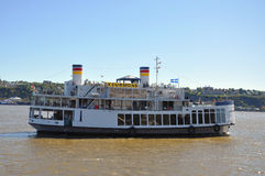 Ferry in Old Quebec City, Canada Royalty Free Stock Photo