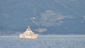 Ferry Orebic Korcula - Domince stock video
