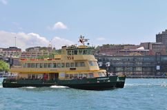 Ferry on the Parramatta River Royalty Free Stock Images