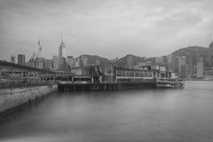 Ferry pier Royalty Free Stock Photo