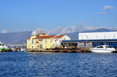 Ferry pier in Izmir, Turkey Stock Image