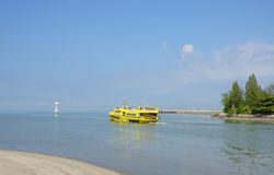 Ferry Pulau Angsa in service in Penang Royalty Free Stock Photo