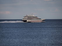 Ferry rapide de ferry de point de l'Orient Photographie stock