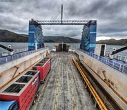 Ferry ride royalty free stock images