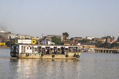 Ferry on the river in Kolkata Stock Images