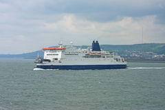Ferry. Sailing in the English Channel Royalty Free Stock Photo
