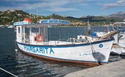 Ferry Santelmo Dragonera Royalty Free Stock Photography