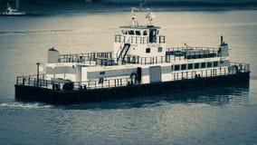 Ferry. A ferry on the Schelde in Antwerp Stock Photo