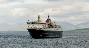 Ferry at sea Royalty Free Stock Photography