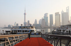 Ferry in Shanghai Stock Images