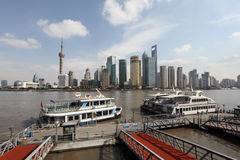 Ferry in Shanghai, China Stock Photos