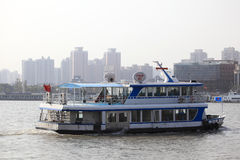 Ferry in Shanghai, China Royalty Free Stock Image