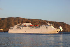 Ferry ship Royalty Free Stock Photography