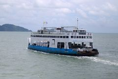 Free Ferry Ship Royalty Free Stock Image - 54921046