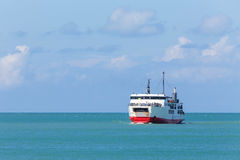 Ferry ship in the sea Stock Image