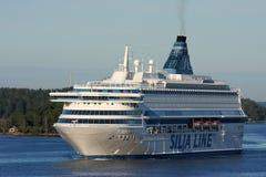 Ferry Silja Line Royalty Free Stock Photos