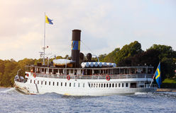 Ferry, Stockholm , Sweden Royalty Free Stock Photography