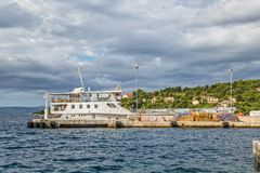 Ferry in Sumartin Stock Photography