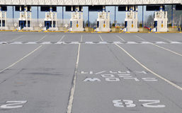 Ferry terminal Stock Photography