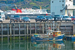 Ferry terminal Royalty Free Stock Images