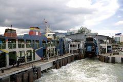 Ferry Terminal Stock Image