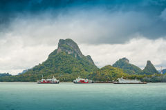 Free Ferry Terminal (Donsak Port). Royalty Free Stock Photo - 41751515