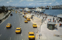 Ferry Terminal Eminonu Istanbul Royalty Free Stock Photos