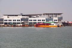 Free Ferry Terminal , Macau Stock Photos - 27108873