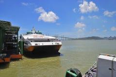 Ferry terminal , macau Stock Photos
