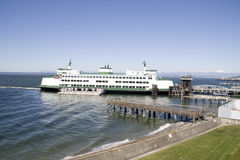 Ferry terminal Royalty Free Stock Image