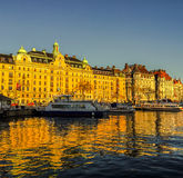 Ferry Terminal, Stockholm Stock Photography
