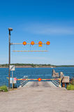 Ferry terminal on Suomenlinna island Stock Photography