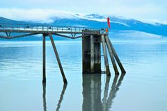 Ferry Terminal , Valdez Alaska Royalty Free Stock Photos