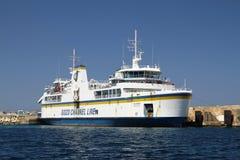 Ferry to Gozo Malta Stock Image