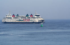 Ferry to the isle of Texel Den Helder Stock Image