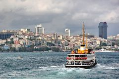 Ferry to Istanbul Stock Photos