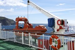 Ferry to La Gomera Stock Images