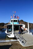 Ferry to Namiseom, South Korea Stock Photography