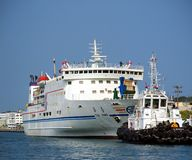 Ferry to Penghu Islands Royalty Free Stock Image