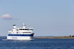 Ferry to Ærø Royalty Free Stock Photo