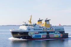 Ferry to Ærøskøbing Royalty Free Stock Photos
