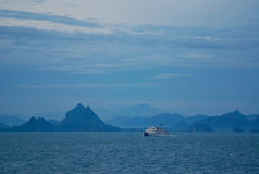 Ferry to samui Royalty Free Stock Images