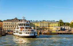 Ferry to Suomenlinna island in Helsinki Stock Photography