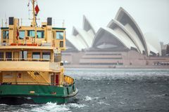 Ferry to Sydney Australia Royalty Free Stock Image